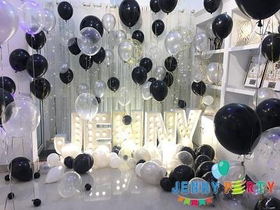 Hướng dẫn trang trí sinh nhật với bong bóng