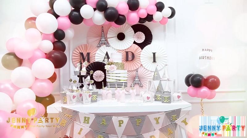 Sinh nhật sang chảnh hơn với chủ đề Chanel