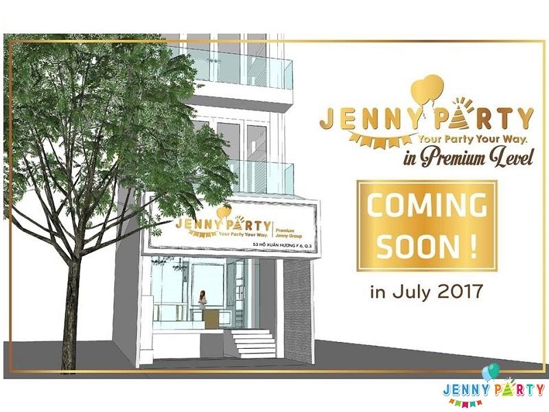 Tưng bừng khai trương Jenny Party Premium Store!